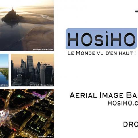 COVID-19, l'agence HOsiHO a rassemblé un fond audiovisuel de plus de 4000 vidéos aériennes sur les villes confinées
